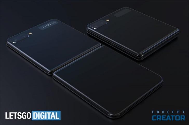 三星GalaxyFold2最新渲染图曝光:打孔折叠屏设计