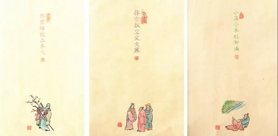 二十四节气木版年画接了300单 潍坊年画传承中有创新图片