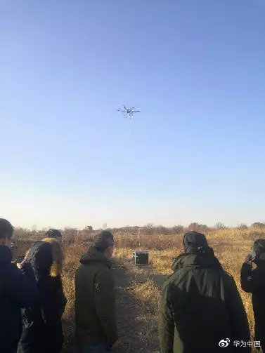5G无人机高空测试
