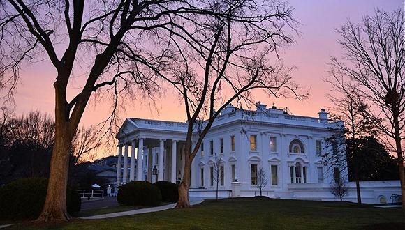 清晨的白宫