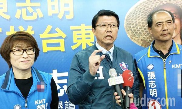谢龙介对韩国瑜很有信心 喊话赖清德:不快乐就回台南吧