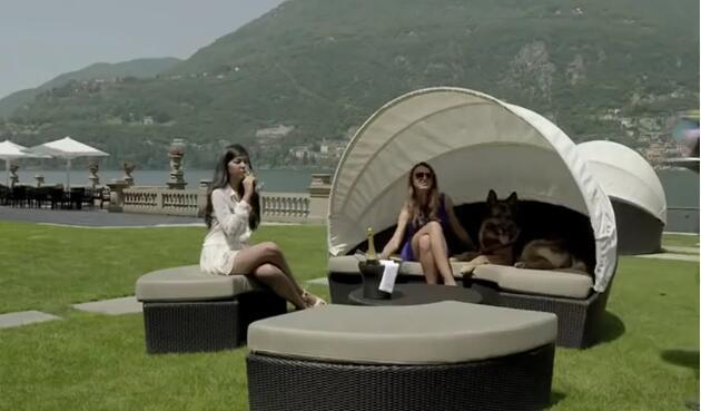 这只德牧继承了1.4亿欧,坐拥别墅城堡!这才是人不如狗系列