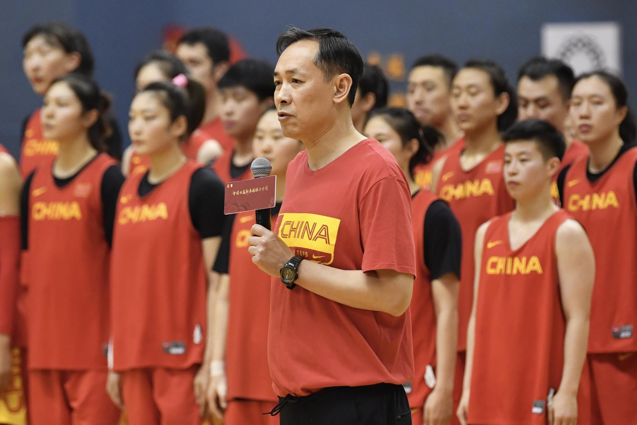 中国女篮主教练撂狠话,打奥运资格赛不依赖主场优势