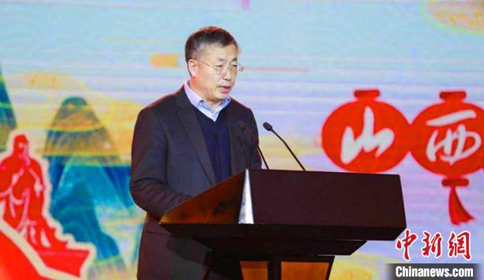 山西省文化和旅游厅副厅长李贵出席推介会并致辞。山西省文旅厅供图