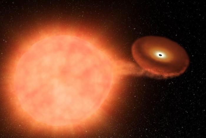天文学家称双星系统V Sagittae将