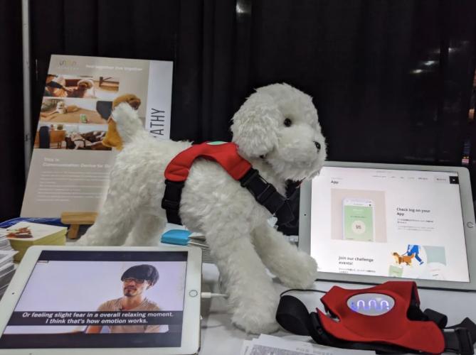 CES 2020:日本公司推出Inupathy装置 可帮助主人分析狗狗的情绪