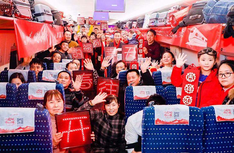 800余名川籍在京务工旅客包车返乡|组图图片