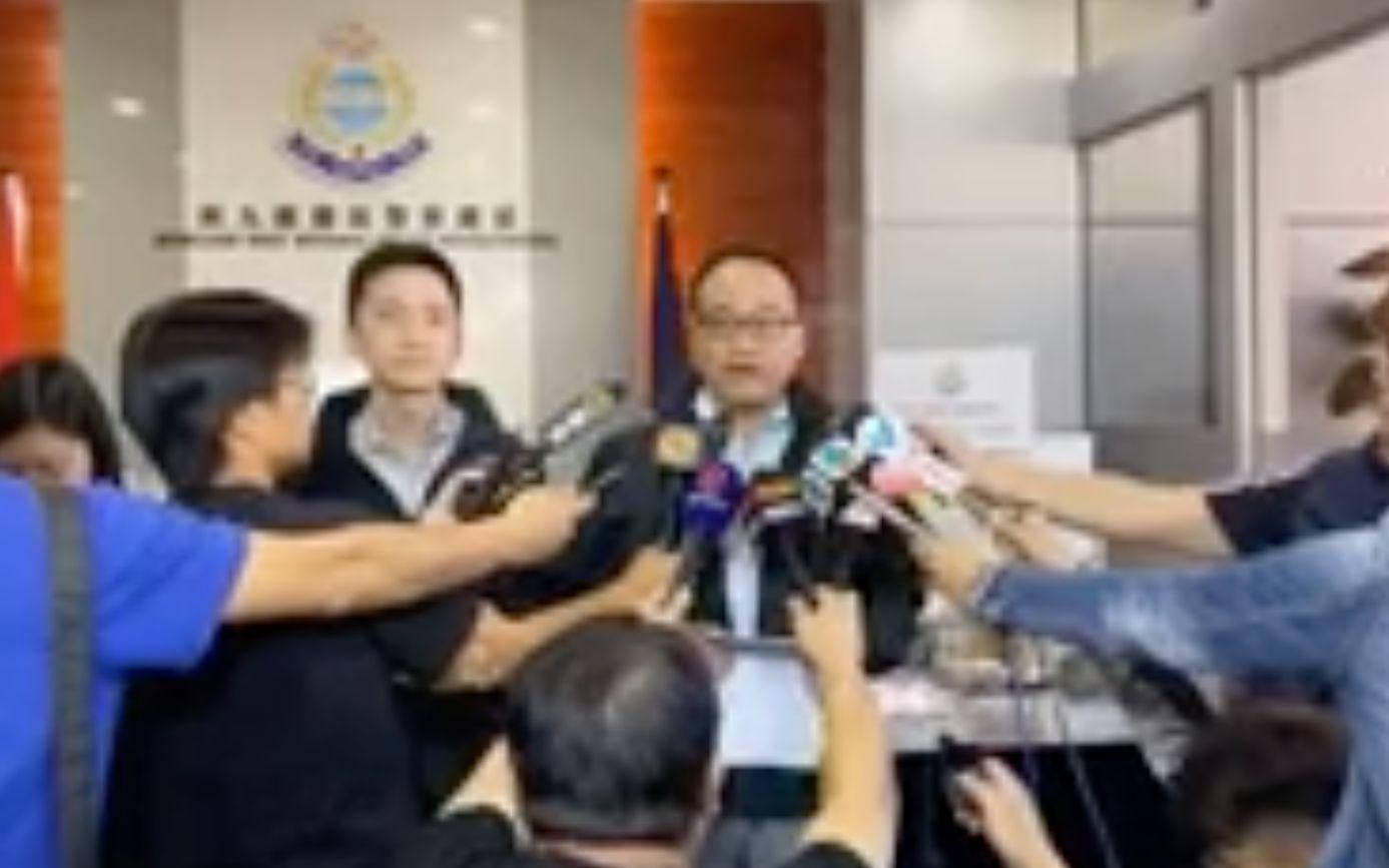 5人涉嫌在港铁九龙塘站投掷汽油弹纵火被拘捕图片