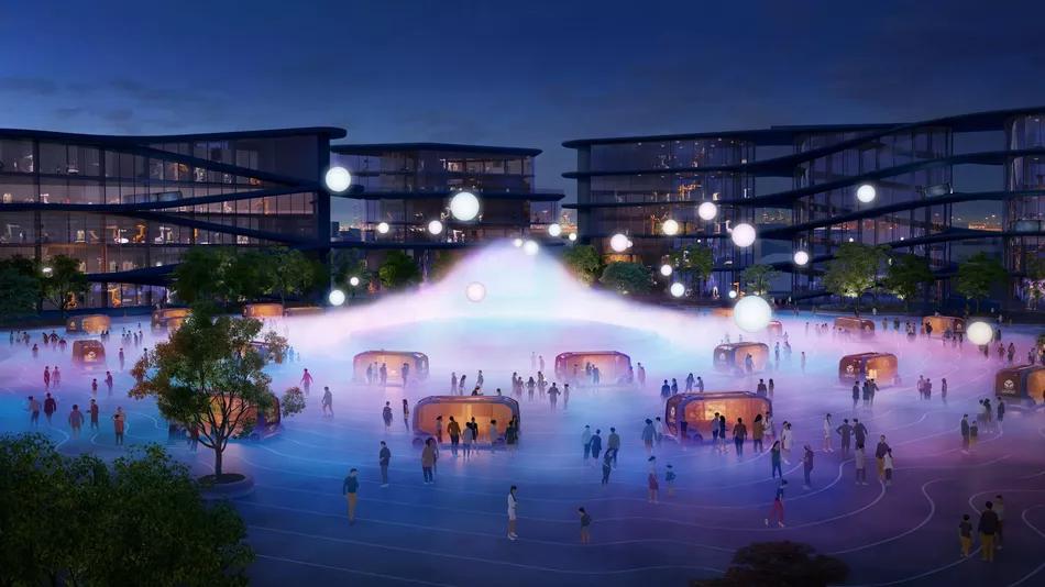 """丰田计划在富士山基地建造一座""""未来城市""""图片"""