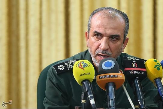 伊朗革命卫队高级指挥官阿卜杜拉·阿拉吉(塔斯尼姆通信社)