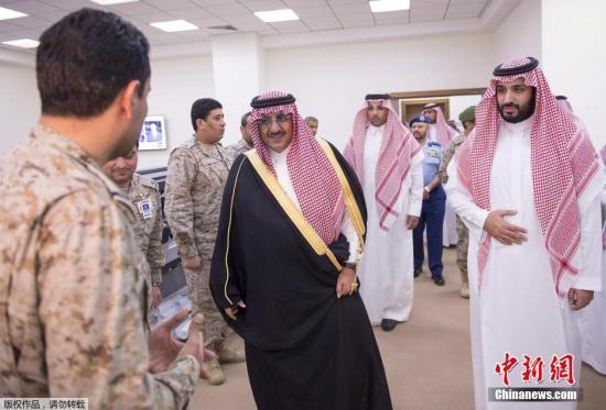 资料图:沙特阿拉伯官员。