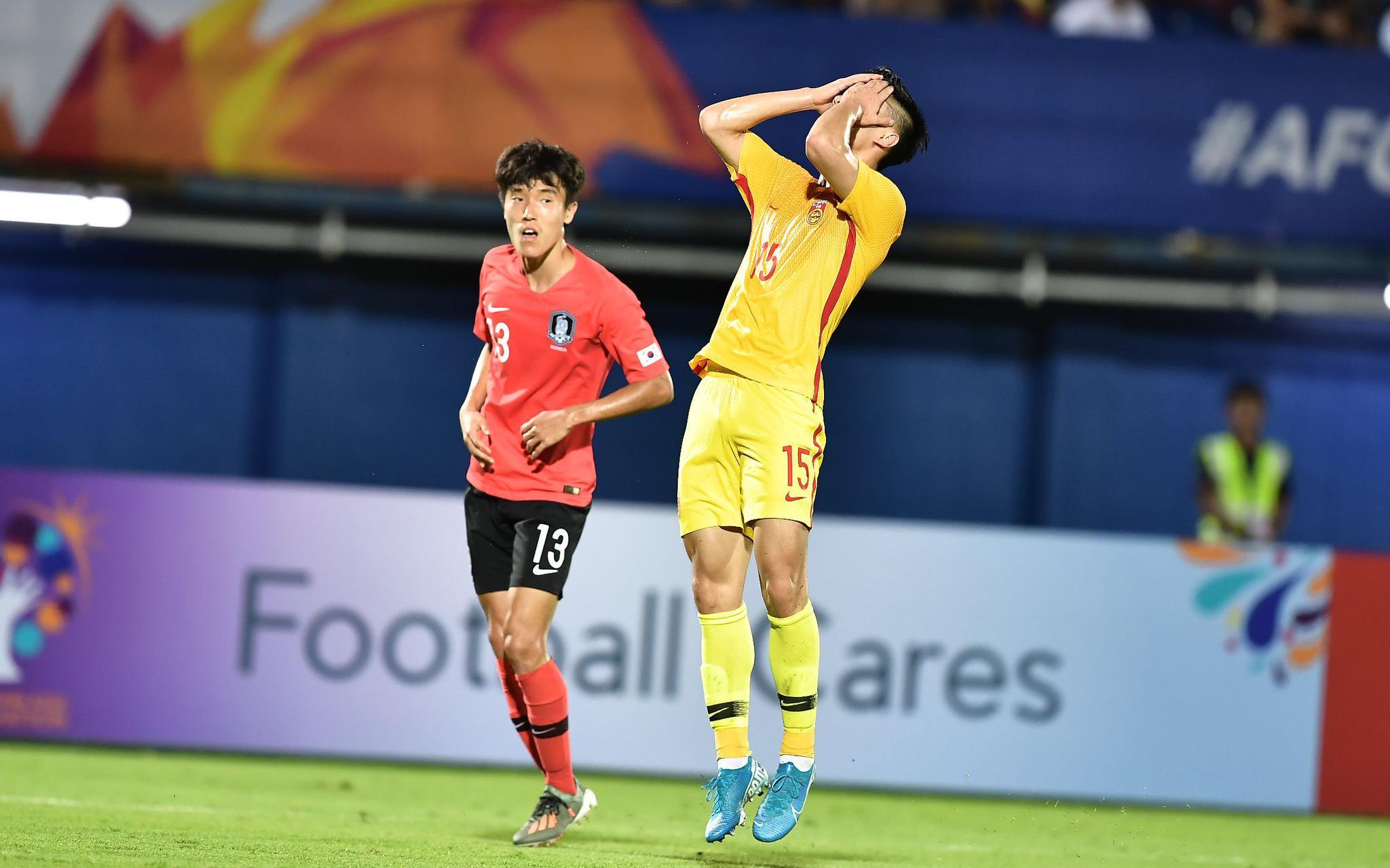 补时第3分钟被韩国绝杀,国奥亚洲杯开局留遗憾图片