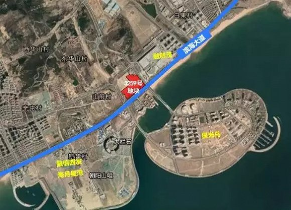 青岛融创西发灵山湾新地块项目规划方案出炉,总建面超21万方