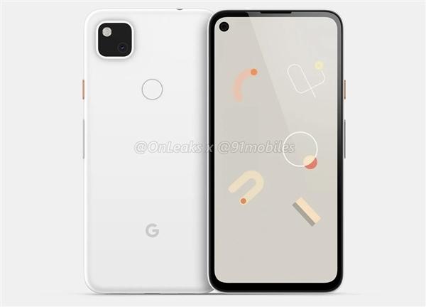 谷歌Pixel4a保护壳曝光:矩形单摄