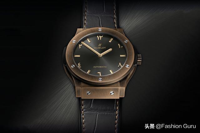 Hublot宇舶推出首款阿拉伯联合大公国限定青铜腕表