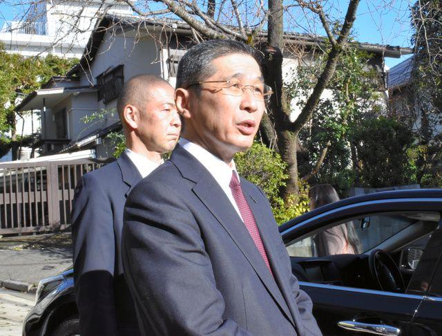 西川早上接受采访,朝日新闻图