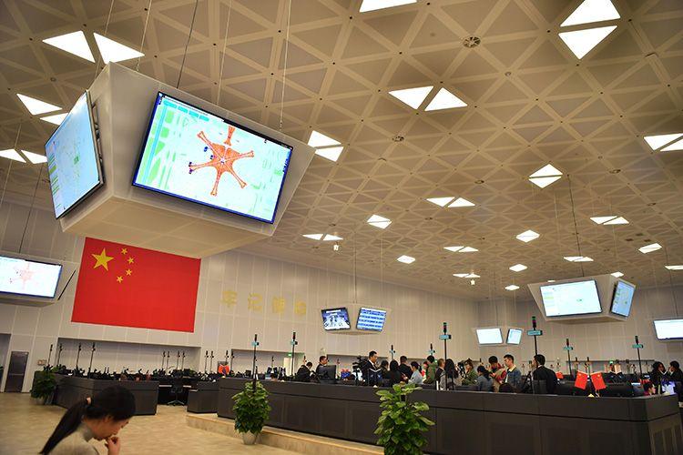 亚洲最大枢纽运控中心和航食中心 保大兴机场首个春运图片