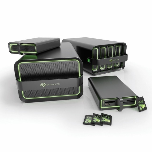 CES 2020:希捷发布Lyve Drive数据移动系统