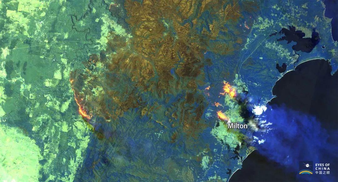 卫星新闻:澳大利亚山火如何狂暴蔓延