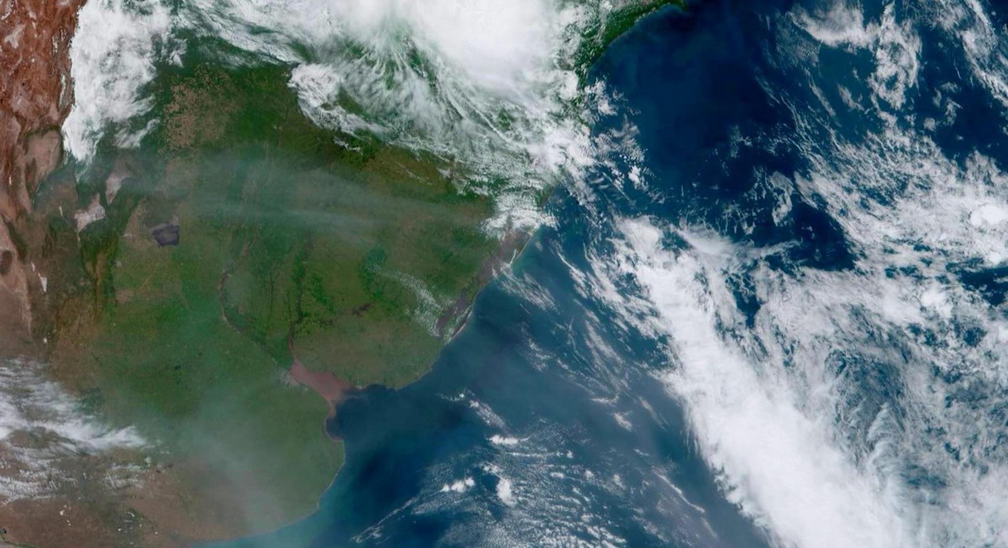 △图片来源于巴西国家空间研究院