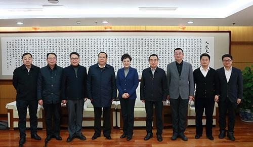 西藏民族大学与中国人民大学开展对口支援工作交流