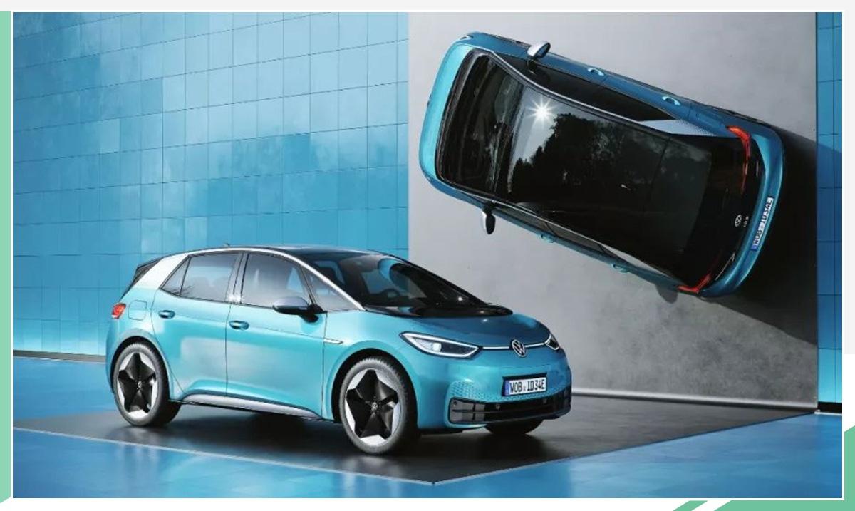 大众高性能纯电动车假想图曝光 配四驱系统