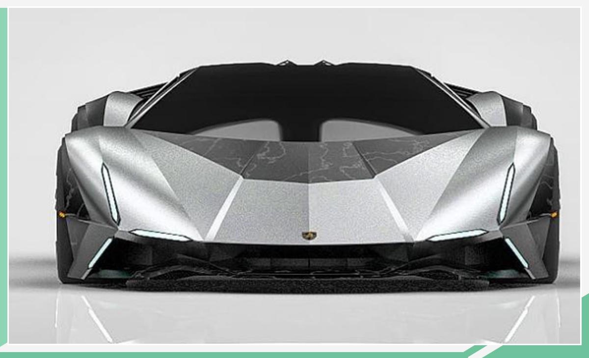 造型依旧梦幻 全新兰博基尼Aventador渲染图