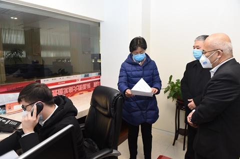 天津高院党组书记、院长李静到一中院检查指导疫情防控工作图片