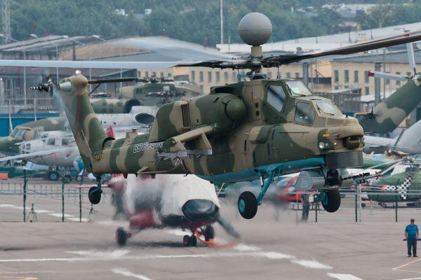 <b>米-28NM武直拟装备先进空空导弹 或可击落第五代战机</b>
