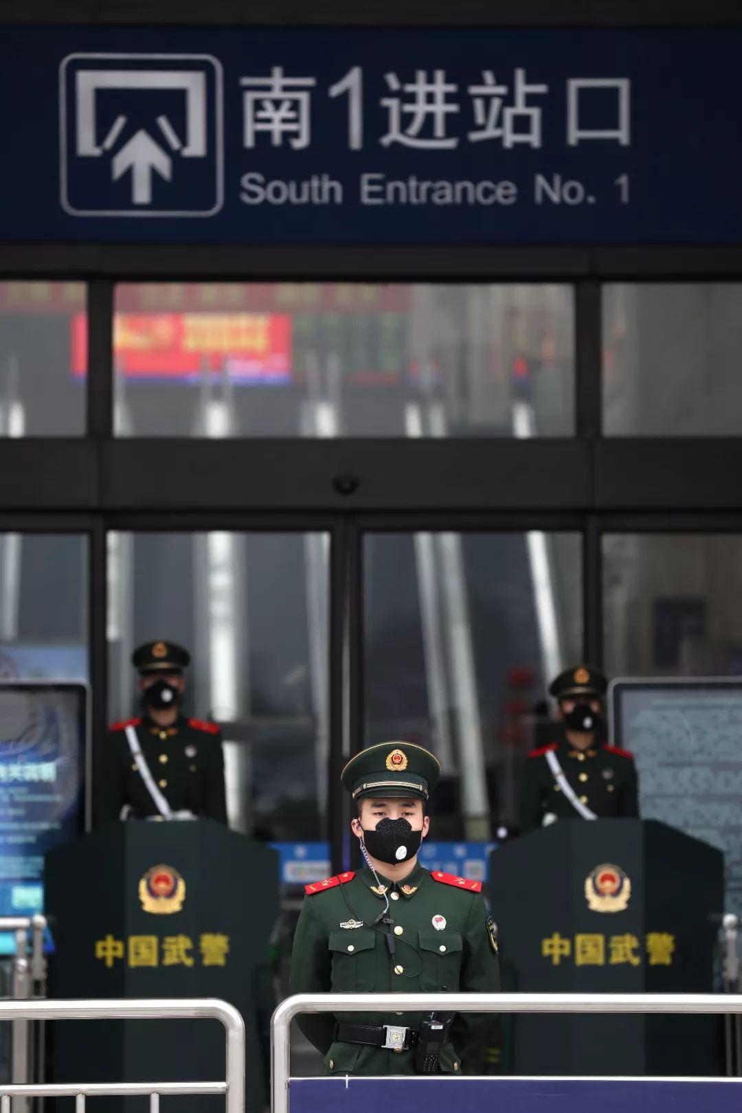 2020年初 我们在武汉现场图片