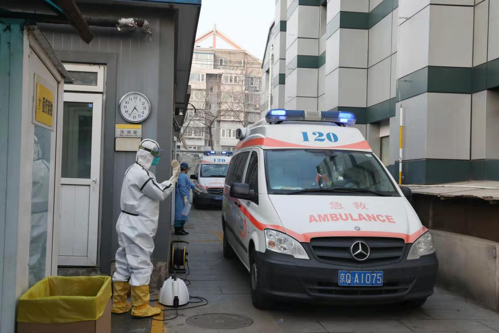 """120急救中心洗消组:做好患者和医护人员的""""护身符""""图片"""