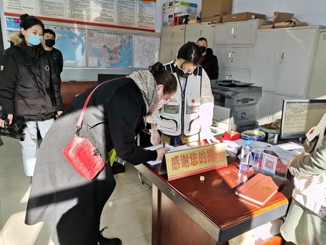 敦化市旅游企业万豪国际大酒店捐款10万元抗击疫情