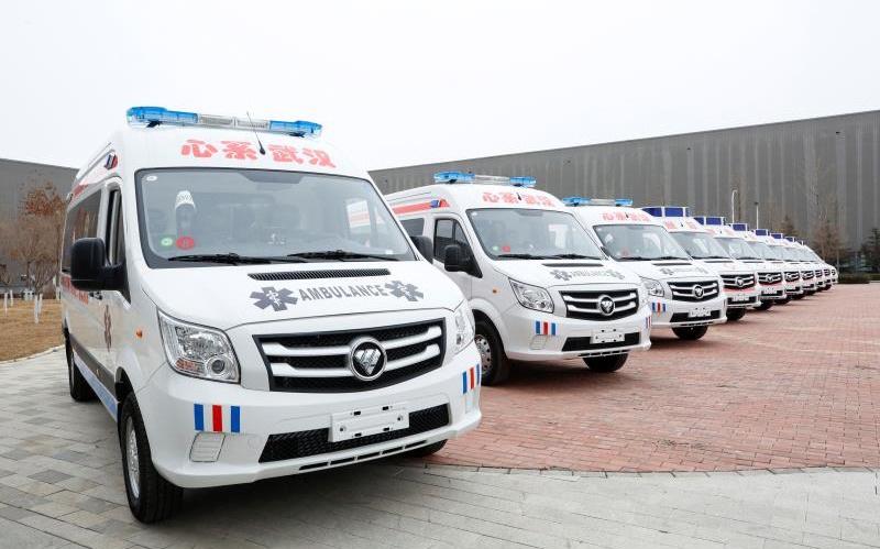 """战""""疫""""打卡启动 每天捐1辆负压救护车善款图片"""