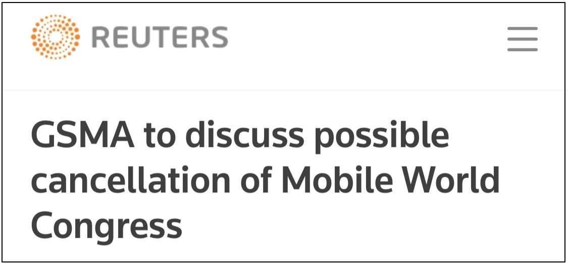 英特尔、索尼等14家厂商宣布退出,MWC恐遭取消