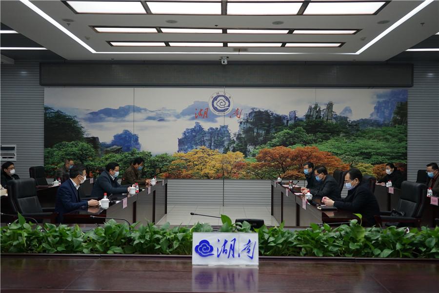 陈文浩赴省气象局调研大气污染防治工作