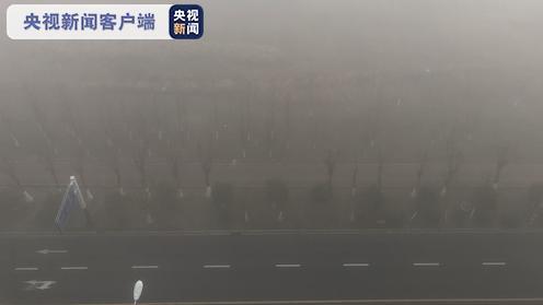 安徽大雾致多条高速公路交通管制