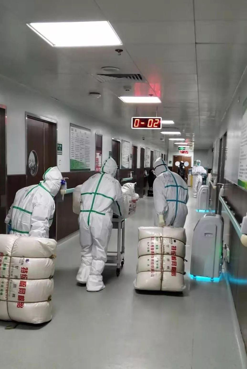 ▲一线医护人员。受访者供图