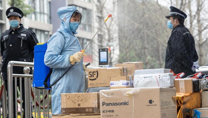 上海1.3万个住宅小区封闭管理了,我们的快递还怎么收?图片