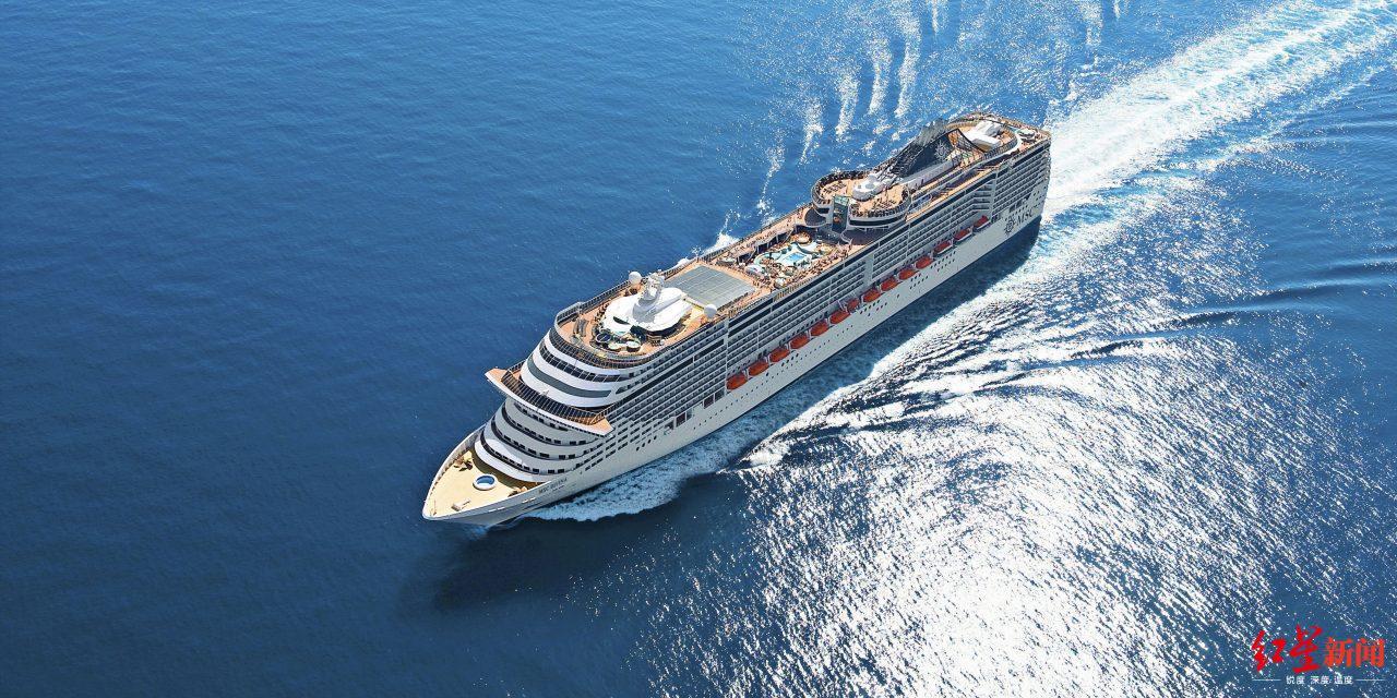 一艘正在航行的邮轮 图据Getty Images