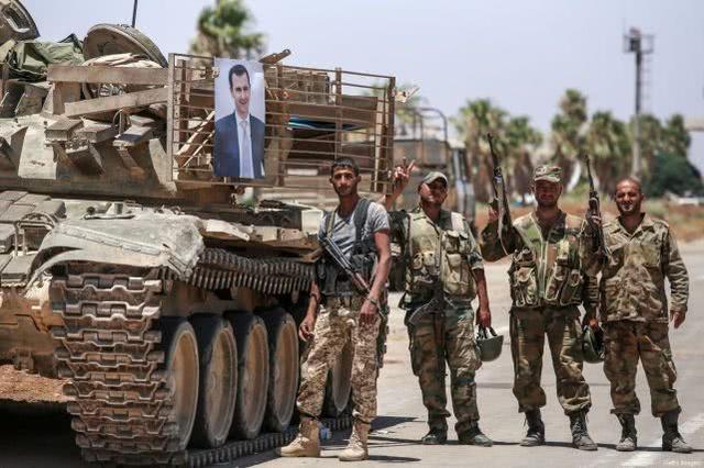 叙利亚王牌老虎师,重创土耳其坦克集群,老将哈桑正面打赢土军