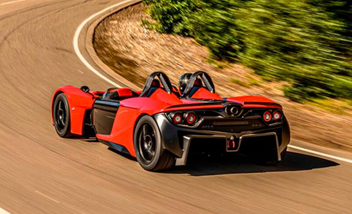 2020日内瓦车展:纯电超级跑车APEX AP-0将亮相