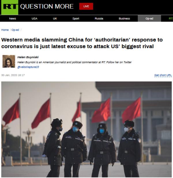 西方媒体又借疫情抹黑中国 美记者:怎么做才是对的