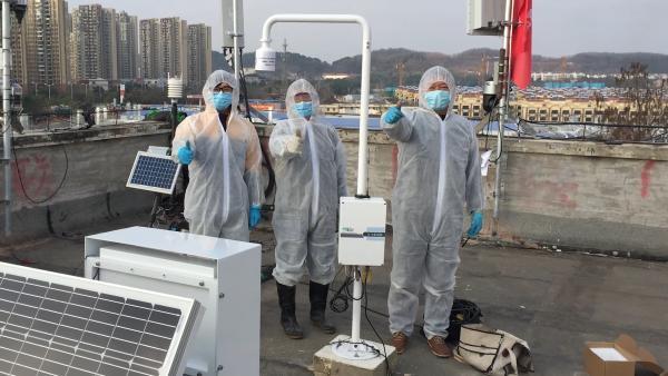 战疫者|9名气象人联名请战为火神山雷神山医院装防雷电设备