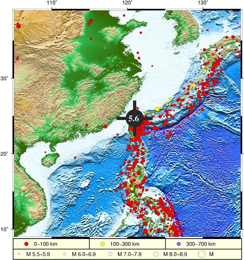 自然资源部:台湾海域地震不会引发海啸图片