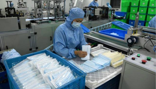 口罩供应瓶颈: 工人未返工 运输严重受限图片