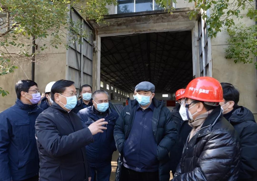 武汉市委书记王忠林:力争3天摸清居家患者底数图片