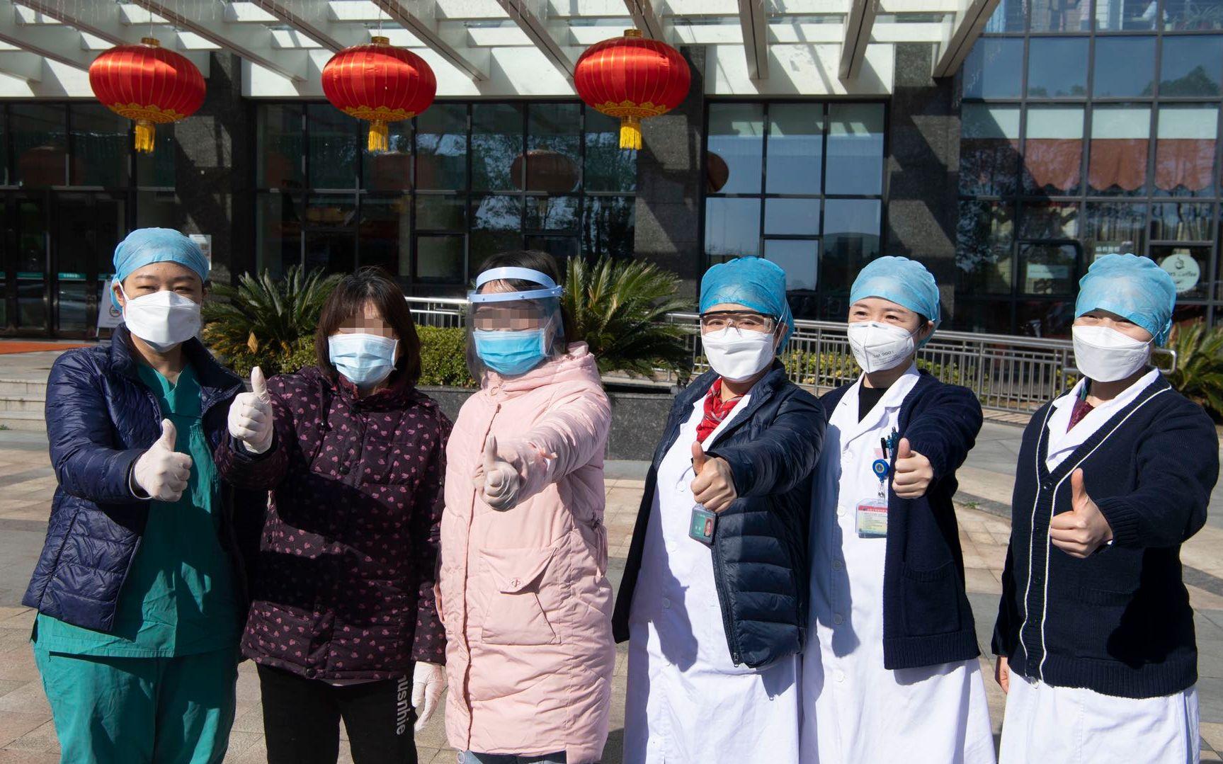 携手收治214人 武汉医护:与北京专家共事很有安全感图片