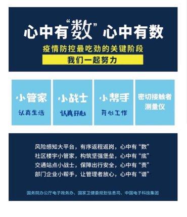 """中国电科推""""小管家""""""""小战士""""""""小帮手""""三款疫情防控和复工复产软件"""