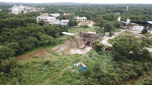 一手抓防疫一手抓生产:海口南渡江饮水工程加快隧洞施工