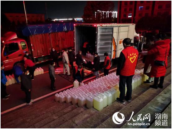 """攸县:筑牢防疫物资""""保障网"""" 推动园区复工复产"""